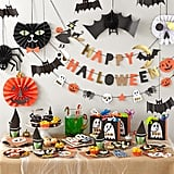 spider circle garland juice box monsters halloween decorations - Kids Halloween Decorations