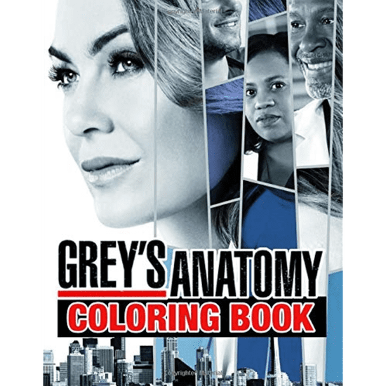 This Grey's Anatomy Coloring Book Is So Good