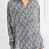 A Victoria Beckham Printed Shirt