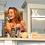 At this year's South Beach Wine and Food Festival, Giada showed the audience how to make some of her favorite pasta dishes.