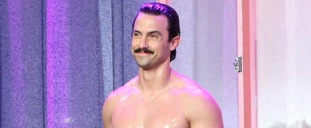​Milo Ventimiglia​ Goes Shirtless on Ellen, and We Can't Stop Watching