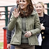October: Kate returned from maternity leave.