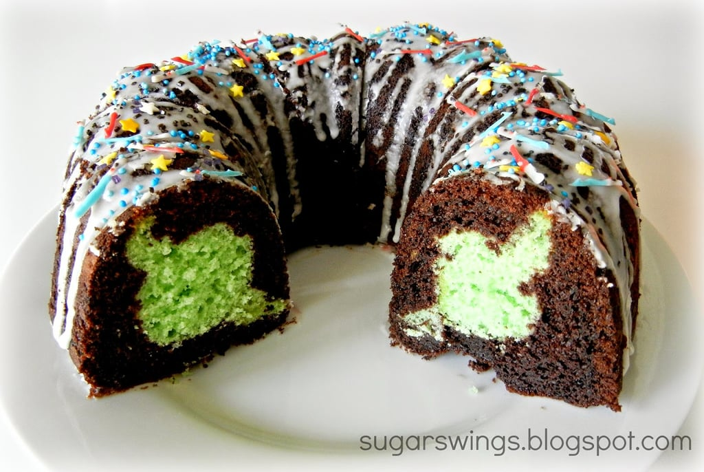 Yoda Bundt Cake