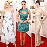 Elle Fanning, Nina Dobrev, and Anne Hathaway were just a few of the stars who sparkled at the Critics' Choice Awards.