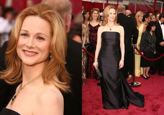 Oscars Red Carpet: Laura Linney