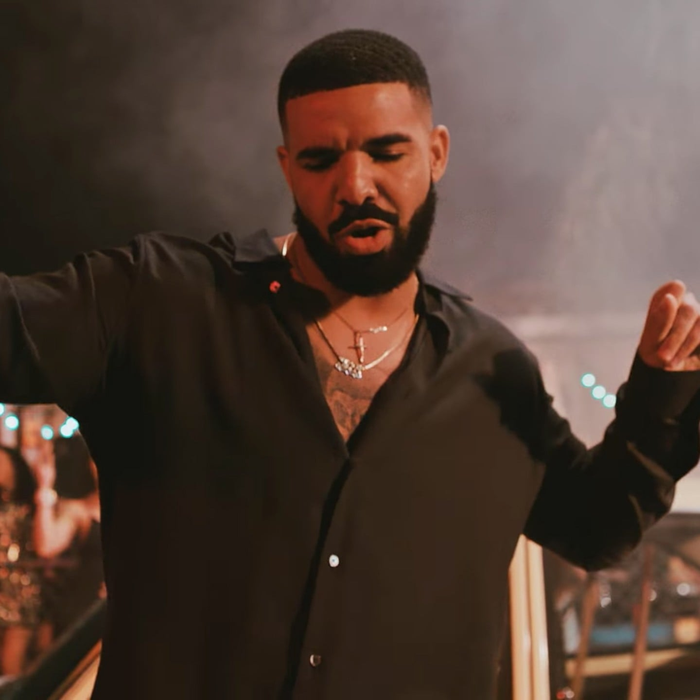 Drake And Bad Bunny Mia Music Video Popsugar Entertainment Uk
