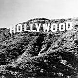 The Hollywood Sign Circa 1970