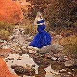 Rainbow Maternity Shoot With Triple Rainbow