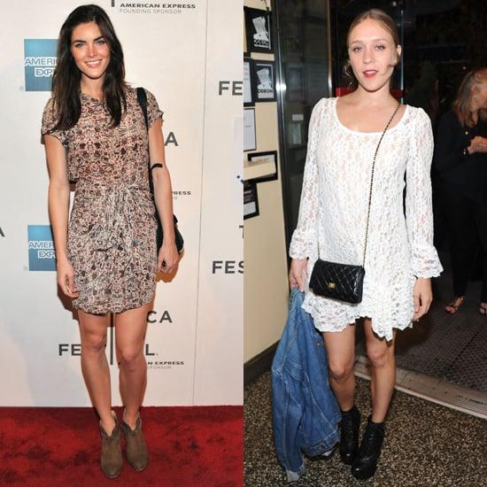 Chloe Sevigny and Hilary Rhoda at the Tribeca Film Festival