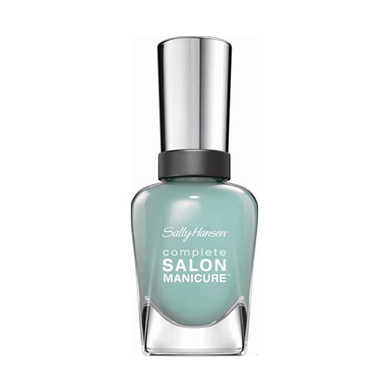 Reminiscent of sea glass, Sally Hansen Complete Salon Manicure in Jaded ($7) lends a weathered feel to the turquoise shade.