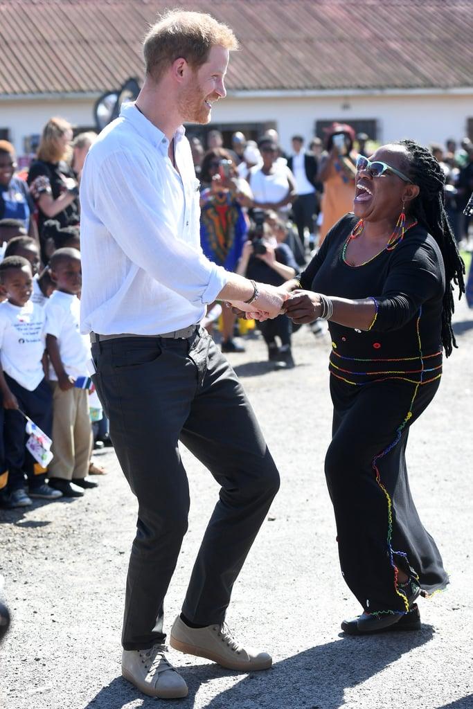 Watch Videos of Prince Harry Dancing