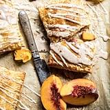 Brown Sugar Peach Puff Pastry Pop Tarts