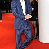 Prince Harry looked hot in his suit.