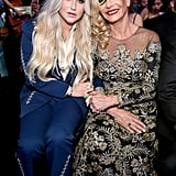 Pictured: Kesha and Pebe Sebert