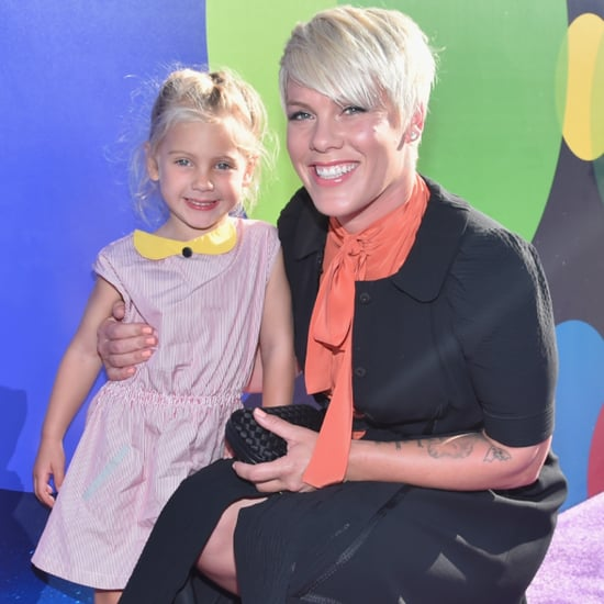 Pink Talks About Daughter on Jimmy Fallon November 2015