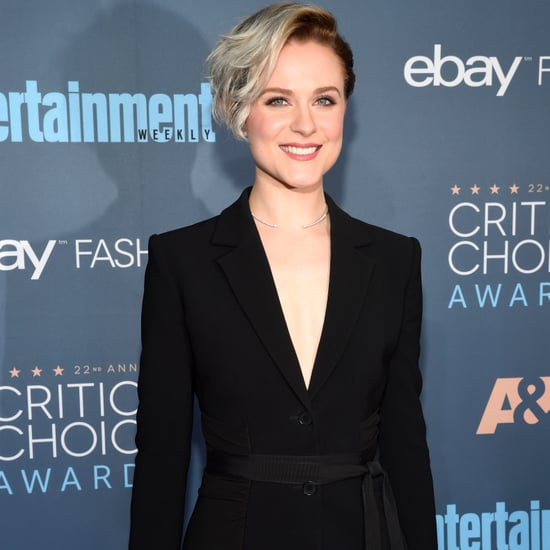Evan Rachel Wood Hair at 2017 Critics' Choice Awards