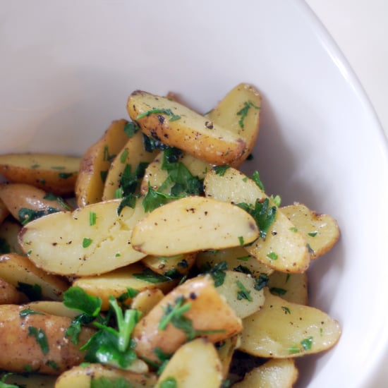 Potatoes With Butter and Parsley