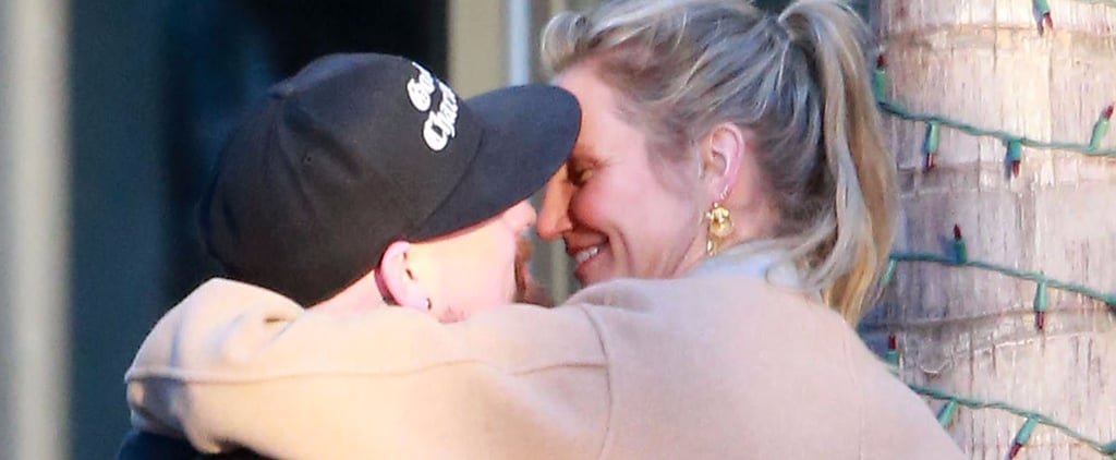 Cameron Diaz and Benji Madden Part Ways in LA, but Not Before Some Sweet PDA