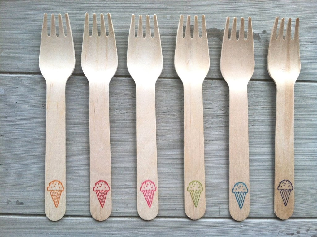 Ice Cream Party Forks