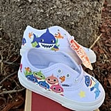Royal Blue Baby Shark Custom Vans