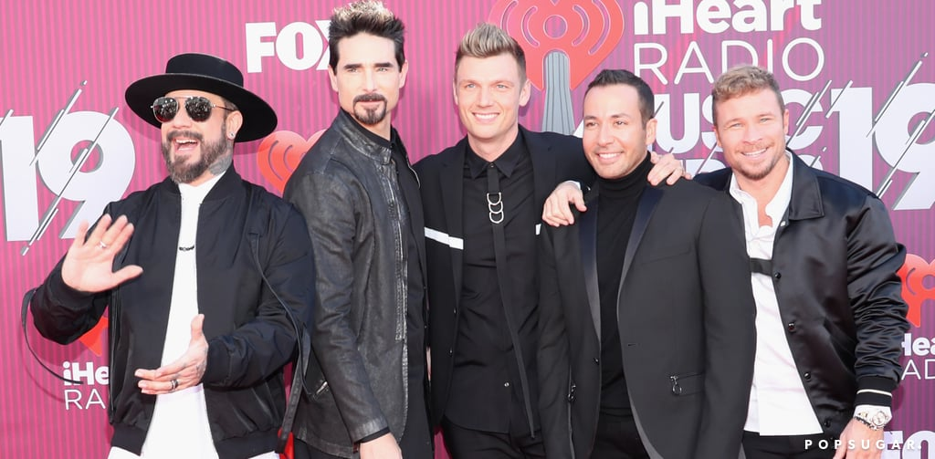 Backstreet Boys at the iHeartRadio Music Awards 2019