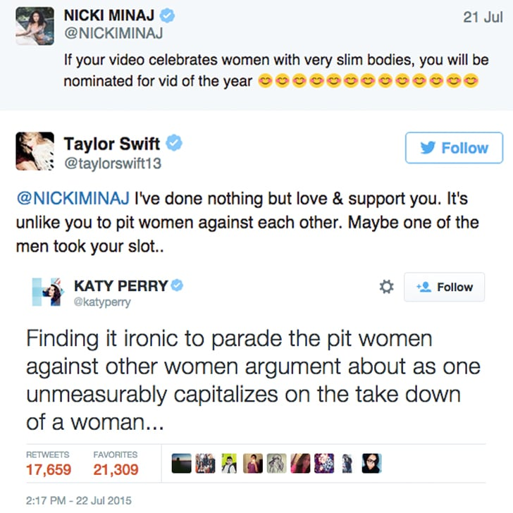 July 22, 2015: The VMAs Tweets