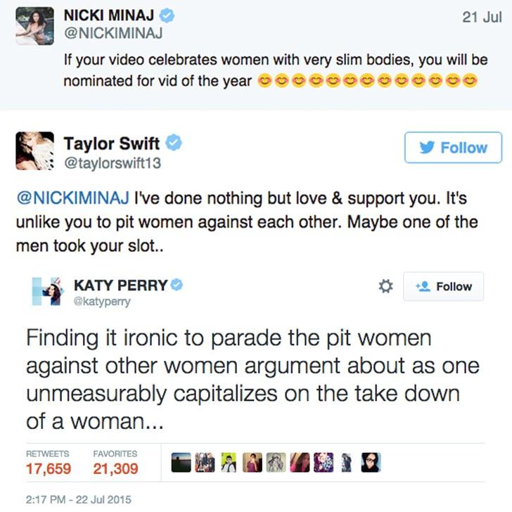 July 22, 2015: The VMAs Tweets
