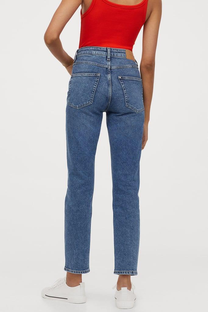 H&M Vintage Slim High Ankle Jeans