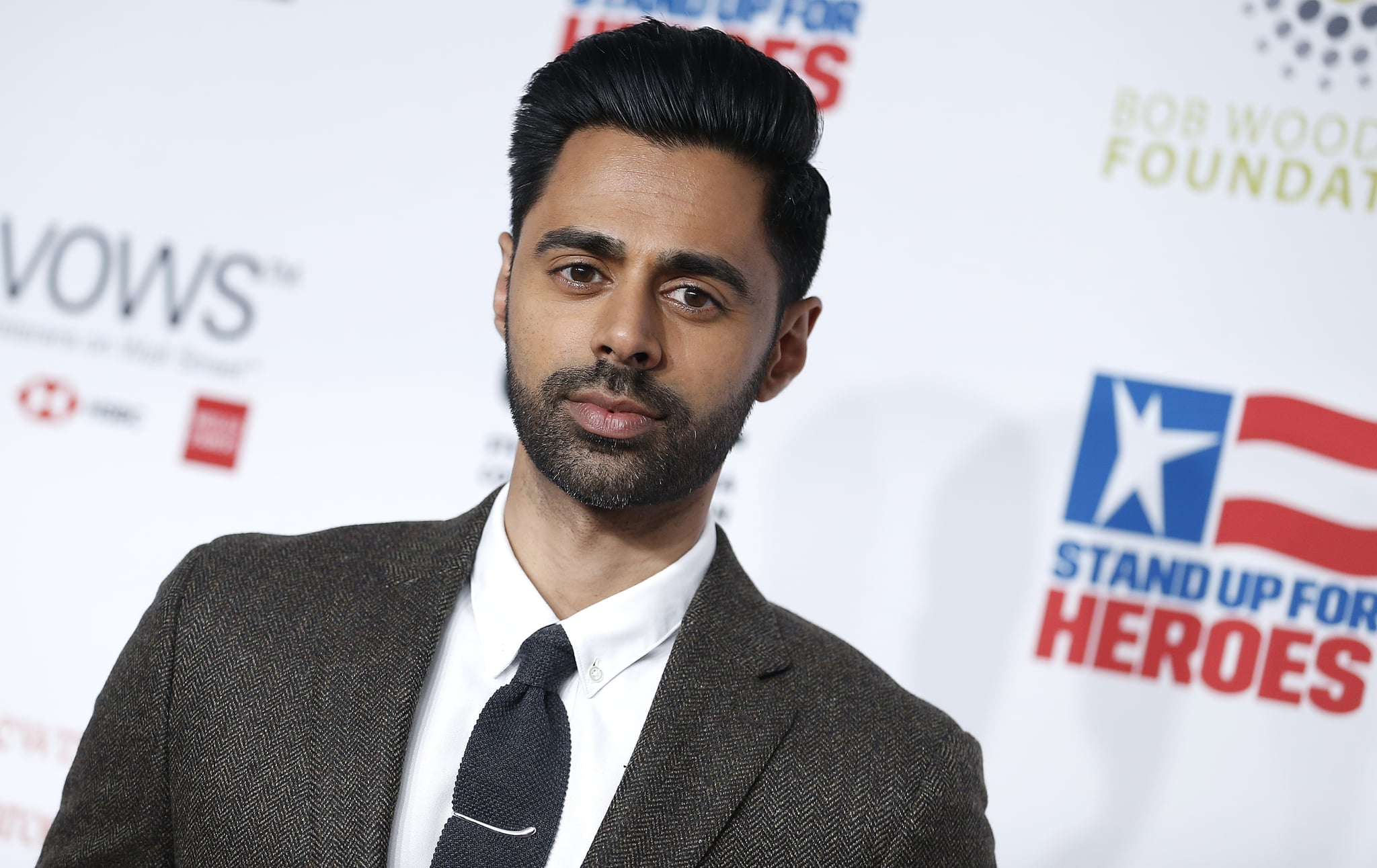 NEW YORK, NEW YORK - NOVEMBER 04 Hasan Minhaj attends 13th Annual Stand Up For Heroes at The Hulu Theater at Madison Square Garden on November 04, 2019 in New York City. (Photo by John Lamparski/Getty Images)