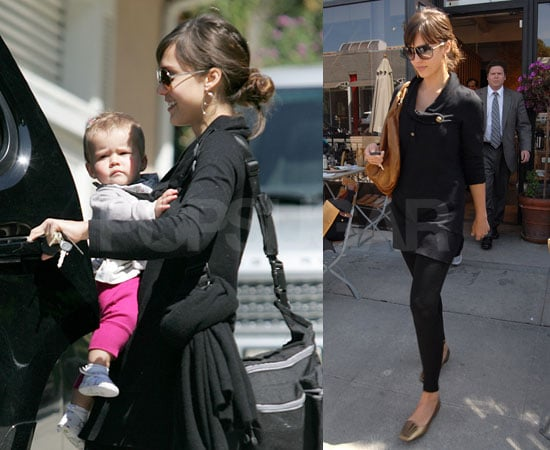 Photos of Jessica Alba and Honor Warren in LA 2009-03-24 16:02:15