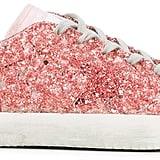 Golden Goose Deluxe Brand Pink Glitter Superstar Sneakers