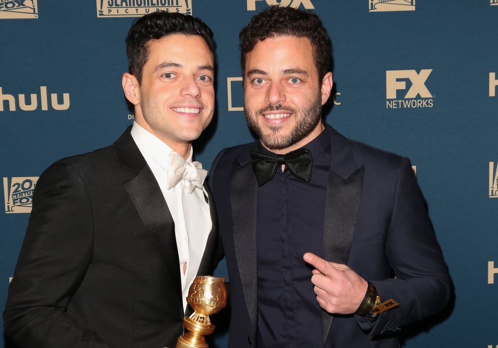 Rami Malek With Twin Sami Pictures