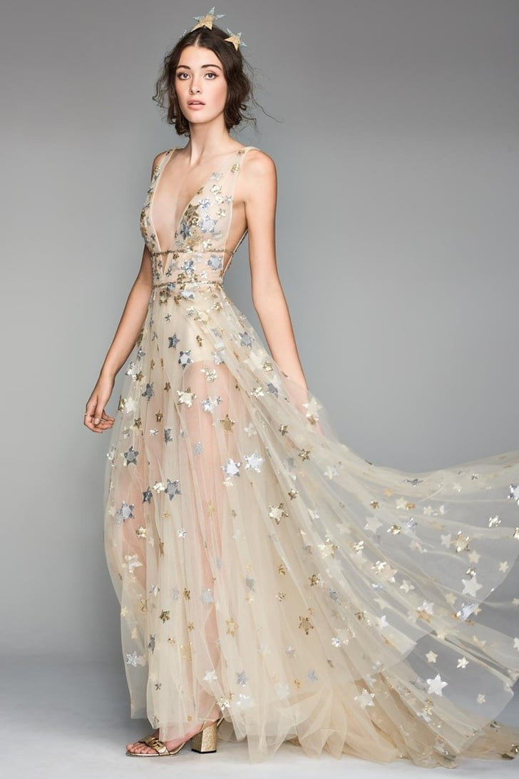 Gold Wedding Dresses Popsugar Fashion