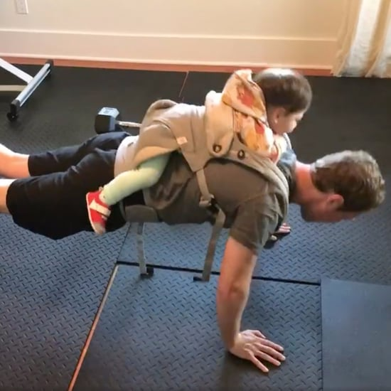 Mark Zuckerberg Workout With Daughter