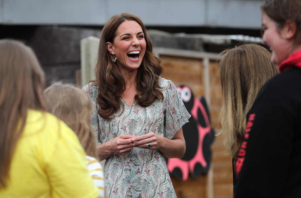Kate Middleton proved she doesn't have a bad angle as she stepped out for a photography workshop for Action For Children in Kingston, England, on Tuesday. Wearing a breezy Summer dress and wedge heels, the royal was all smiles as she mingled with young children and tested different settings on a camera. The event was perfect for Kate seeing that she is an avid photographer and is often snapping photos of Prince George, Princess Charlotte, and Prince Louis for Kensington Palace. In fact, Queen Elizabeth II recently passed the patronage of the Royal Photographic Society on to Kate, after holding the role for 67 years. We can't wait to see her new photography skills in the next adorable photo of her kids.       Related:                                                                                                           Kate Middleton Is Hitting the Ground Running in 2019 — See Her Best Moments So Far