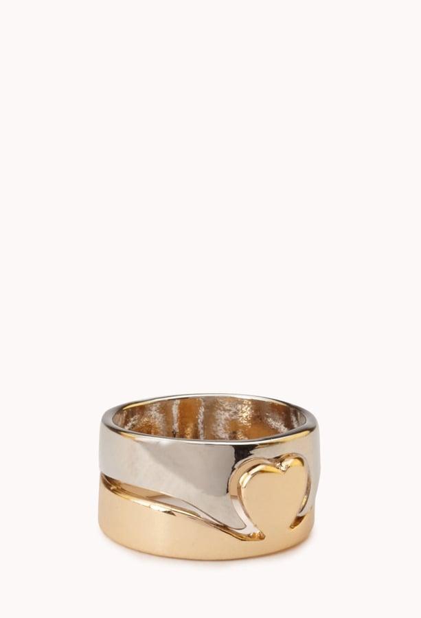 Forever 21 Heart Ring
