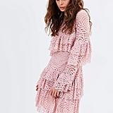 We Love: Talulah Valencia Rose Long Sleeve Mini Dress, $350