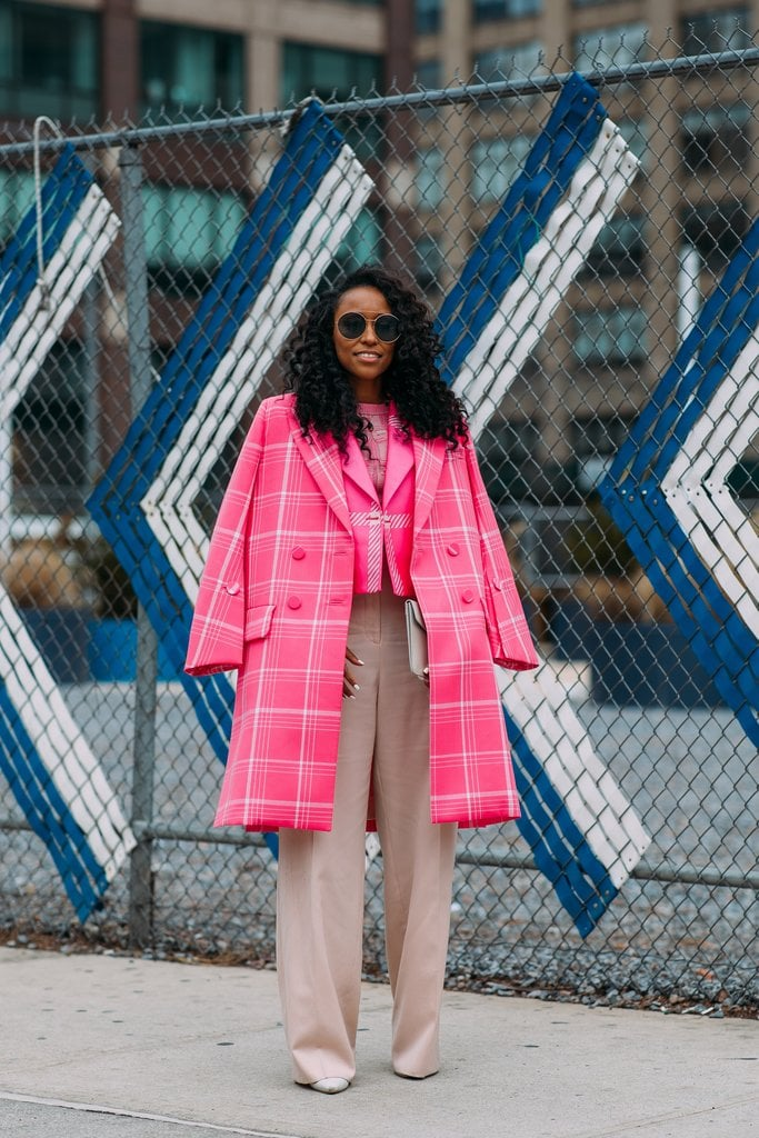 If you are going to layer two coats, find options in the same exact color like Shiona Turini.