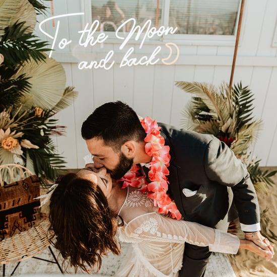 Tropical Boho Beach Elopement