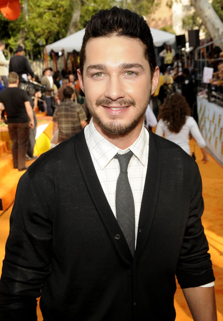 He cleaned up real nice at the Kids' Choice Awards in March 2008.