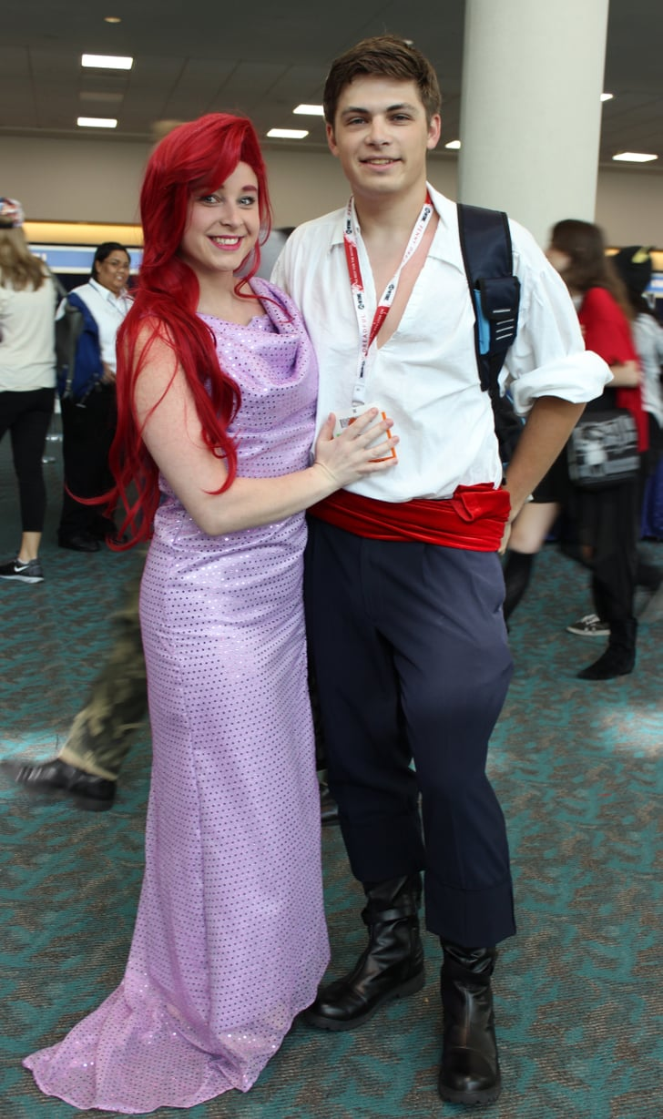 Ariel And Eric San Diego Comic Con Cosplays 2015