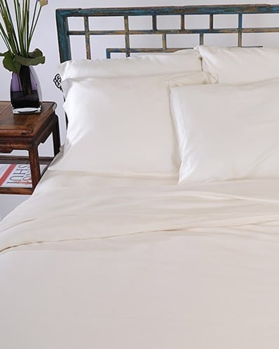 """""""Eco-friendly and ethical issues are an important topic this year,"""" so House to Home suggests you """"think about introducing eco-materials around your home."""" Get started with these Green Earth Bamboo Bed Sheets ($170)."""
