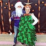 Santa and the Christmas Tree