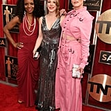 Marsha Stephanie Blake, Emma Myles, and Lori Petty