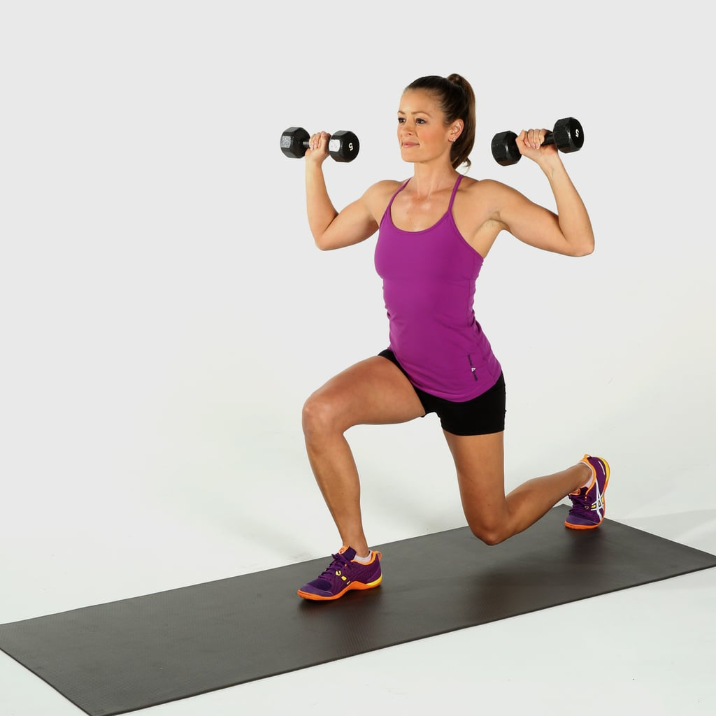 Weight Training For Women Dumbbell Circuit Workout Popsugar Fitness