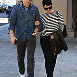 Ginnifer Goodwin and Josh Dallas Out For Lunch in LA