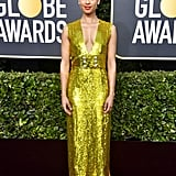 Gugu Mbatha-Raw at the 2020 Golden Globes