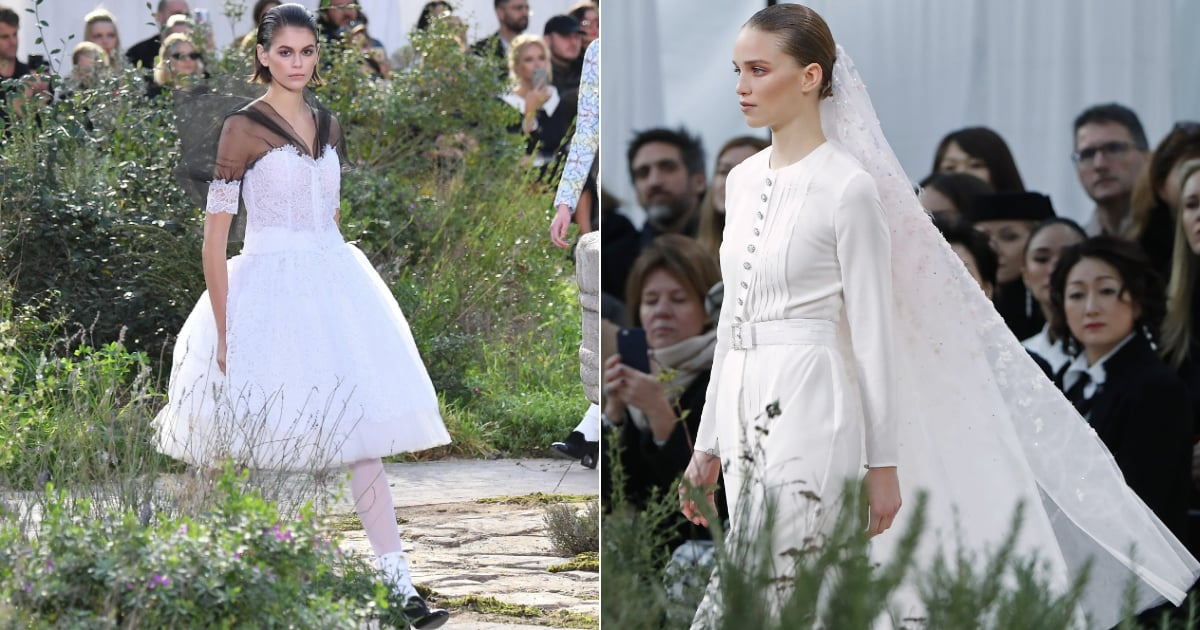 19 Bridal Looks We Found on the Chanel Haute Couture Runway