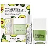 Nails Inc. Ripe and Ready Avocado Oil Nail and Lip Kit