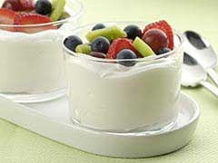 Snack Attack: Frozen Fruit + Nonfat Whipped Topping